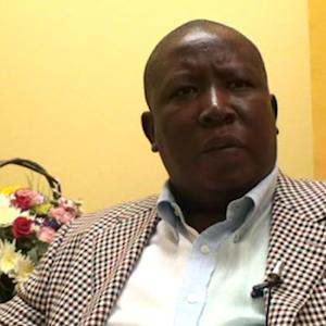 South Africa's Malema Seeks to Build Left Alliance