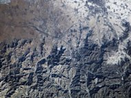 <p>This NASA file image shows the Great Wall of China and Inner Mongolia, photographed by Expedition 10 Commander Leroy Chiao on the ISS, on April 22, 2009. China has launched commercial and public services across the Asia-Pacific region on its own domestic satellite navigation network, built to rival the US global positioning system.</p>