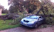 Hurricane-Force Storm Hits Southern Britain
