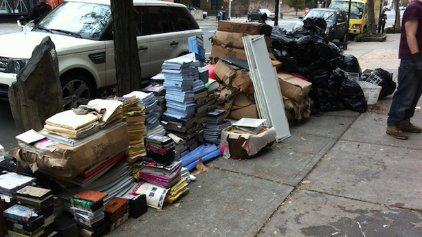 Another Bookstore Falls Victim to Sandy; New York Library Waives Overdue Fines