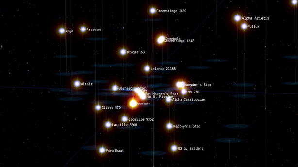 Prepare to Be Hypnotized by This Star Map