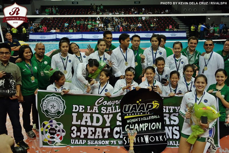 Congratulations to the UAAP Season 75 Women's Volleyball Champions