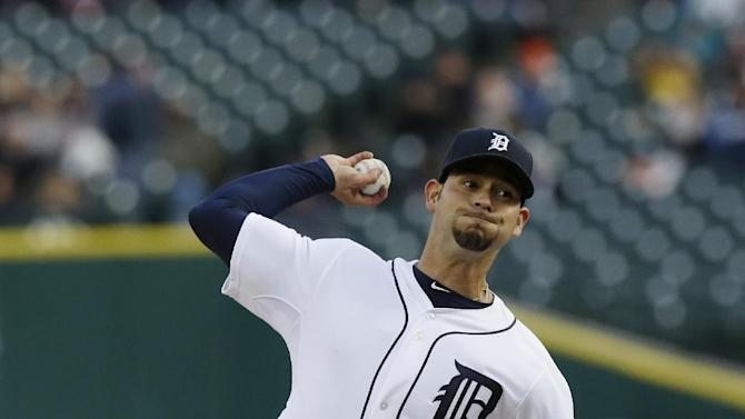 Gomes, McAllister lead Indians past Tigers 3-2