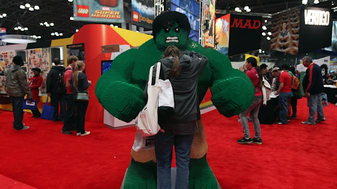 Opening night at the New York Comic Con