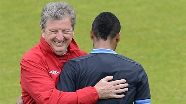Euro 2012 Roy Hodgson Ashley Cole