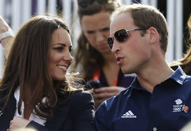 Prince William and Kate Middleton at the Olympics
