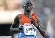World and Olympic 1,500 metres champion Asbel Kiprop, pictured on June 7, is looking forward to making a successful defence of his title at the London Olympics and restoring the image of the metric mile race at the event