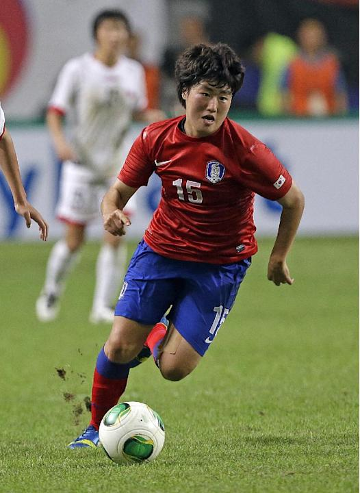 South Korea Soccer East Asian Cup