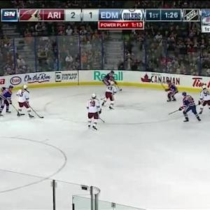 Coyotes at Oilers / Game Highlights