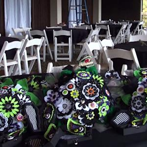 Ark. couple has Tim Burton-themed wedding