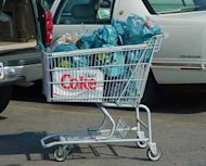 How to Save the World—a Wal Mart Inititative image Shopping cart.300