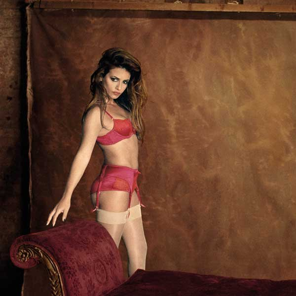 Monica Cruz in lingerie per Agent Provocateur