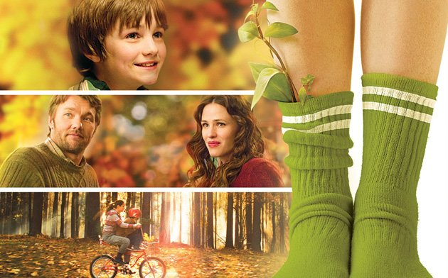 The Odd Life of Timothy Green Blu-ray Box Art