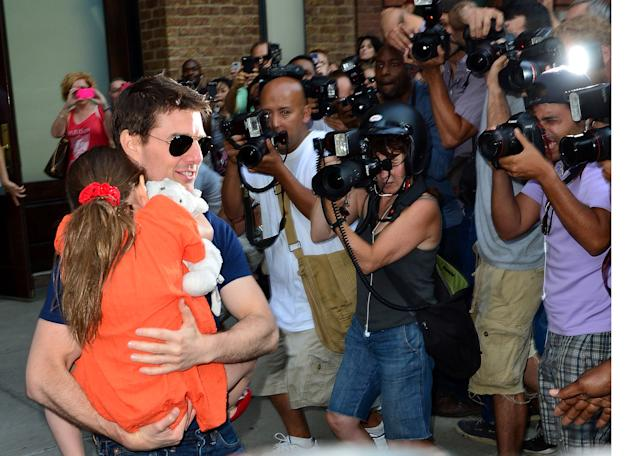 Tom Cruise, Suri Cruise, Getty Images