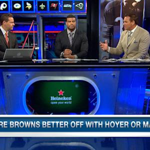 Should Cleveland Browns start Johnny Manziel or Brian Hoyer?