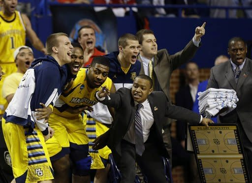 Blue and Marquette show Butler the door, 74-72