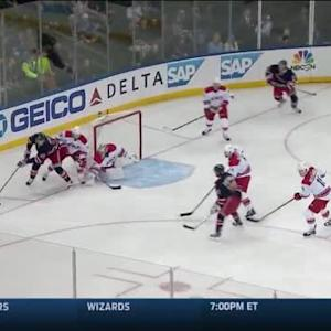 Cam Ward Save on Mats Zuccarello (01:46/1st)