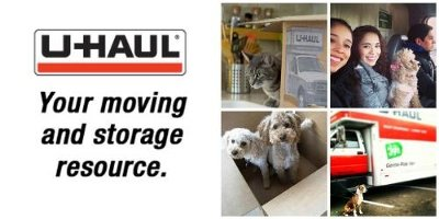 Moving? Got Pets? Check Out These Moving Tips from U-Haul.