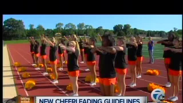Doctors group: Cheerleading should be considered a sport