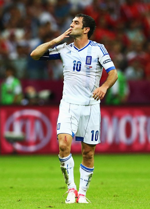 Giorgos Karagounis Of Greece …