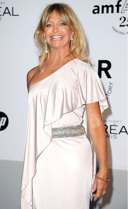 Goldie Hawn amfar Cinema AgainstAIDS Gala