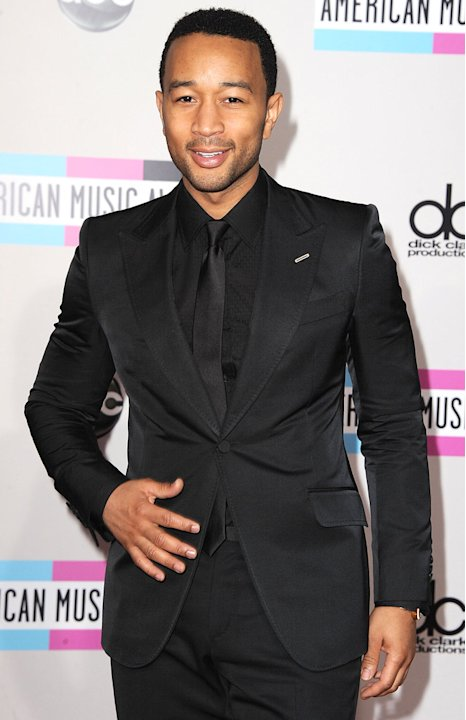 John Legend American Music Awards Arrivals