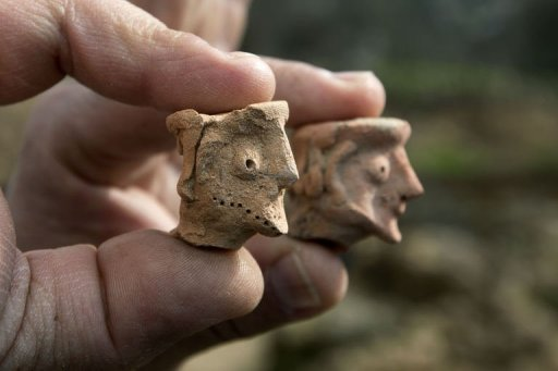 Tel Motza: The site where the female figurines were found