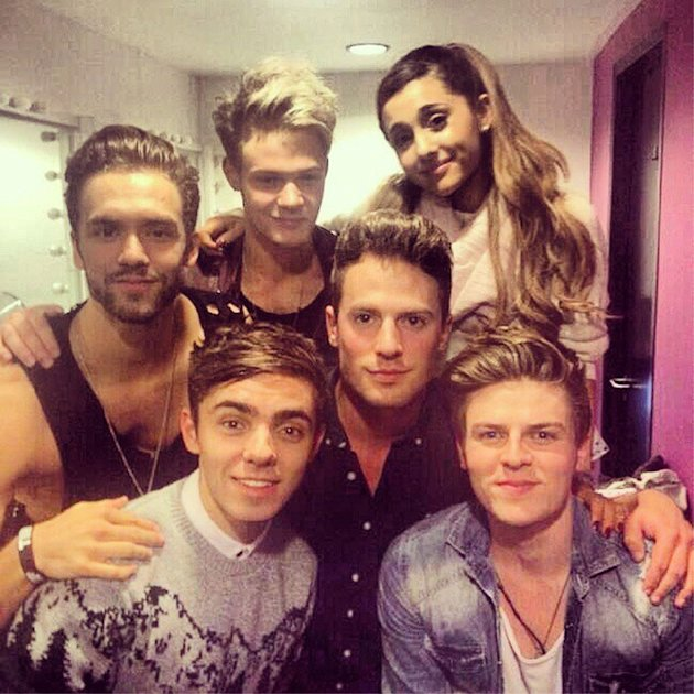 Nathan the wanted and ariana grande - photo#3
