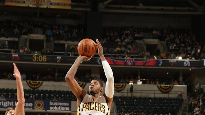 George scores 26 to lead Pacers past Hawks, 108-98