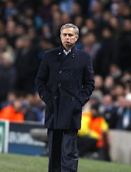 Jose Mourinho, pictured, says he has a good relationship with Florentino Perez