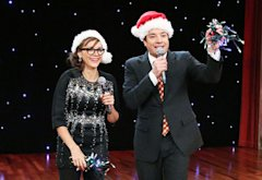 Rashida Jones and Jimmy Fallon | Photo Credits: Lloyd Bishop/NBC