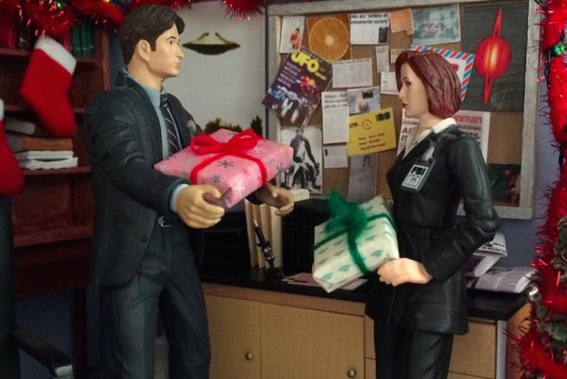 Miniature X-Files office is home to the cutest detectives in the FBI