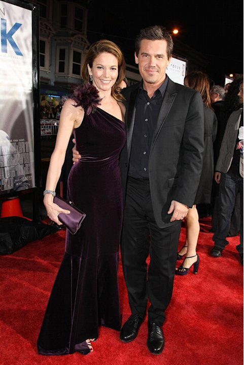 Milk San Francisco Premiere 2008 Diane Lane Josh Brolin