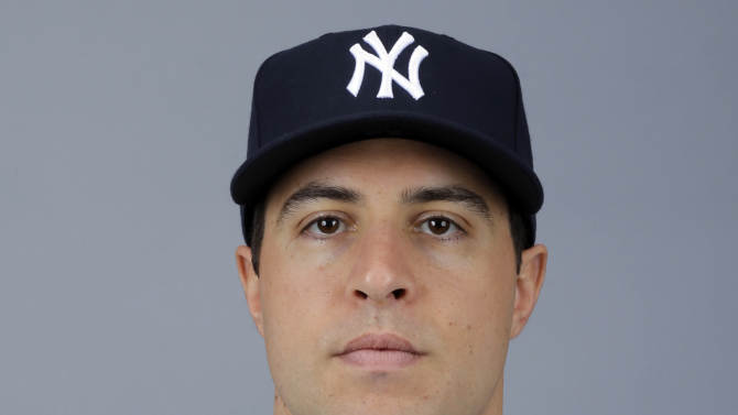 FILE - This is a 2013 file photo showingMark Teixeira of the New York Yankees baseball team. Doctors have recommended that Yankees first baseman Teixeira have surgery on his right wrist, which likely would end his season. The Yankees said Wednesday, June 26, 2013, that the All-Star had an MRI with dye contrast and that team physician Dr. Christopher Ahmad said the torn tendon sheath had not adequately healed. (AP Photo/Matt Slocum)