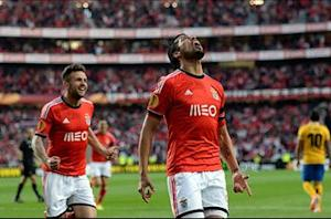 Benfica 2-1 Juventus: Lima late show gives Eagles advantage