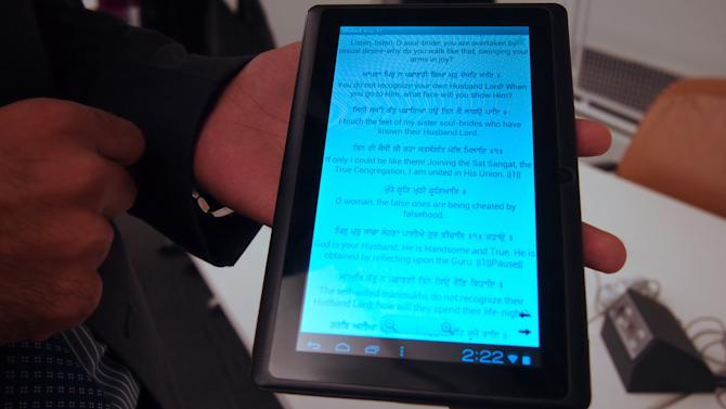 Hands-On With the World-Changing $40 Tablet