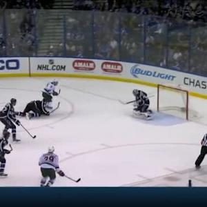 Ben Bishop Save on Zach Parise (09:50/2nd)