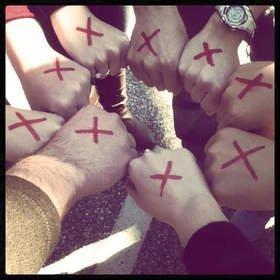 The END IT Movement Asks Americans to Shine a Light on Slavery by Drawing a Red X on Their Hands April 9 and Sharing It Across Social Networks