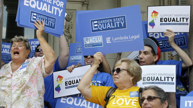 NJ judge pressed to allow gay marriage in state