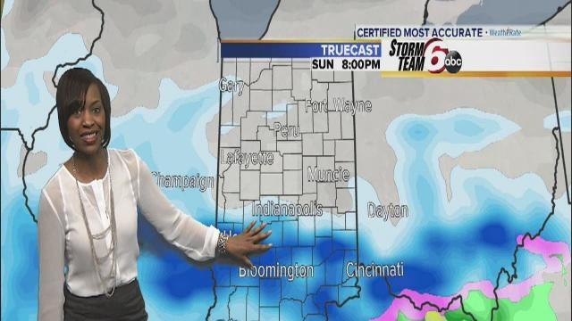 Winter storm set to slam Indiana