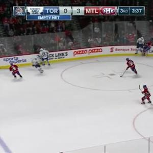 Nazem Kadri Hit on Greg Pateryn (16:26/3rd)