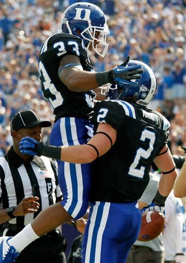 Duke easily defeats Virginia 42-17
