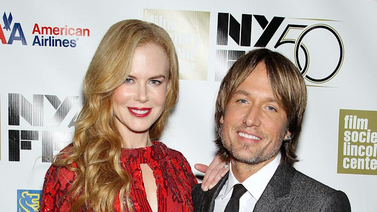 released by Starpix shows actress and honoree Nicole Kidman, left