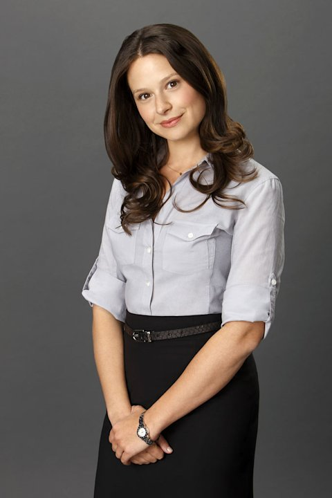 "Katie Lowes stars as Quinn Perkins in ""Scandal."""