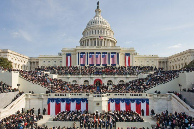 Here's how much an inauguration costs, and who pays for it