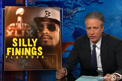 The Daily Show's take on Marshawn Lynch is perfect