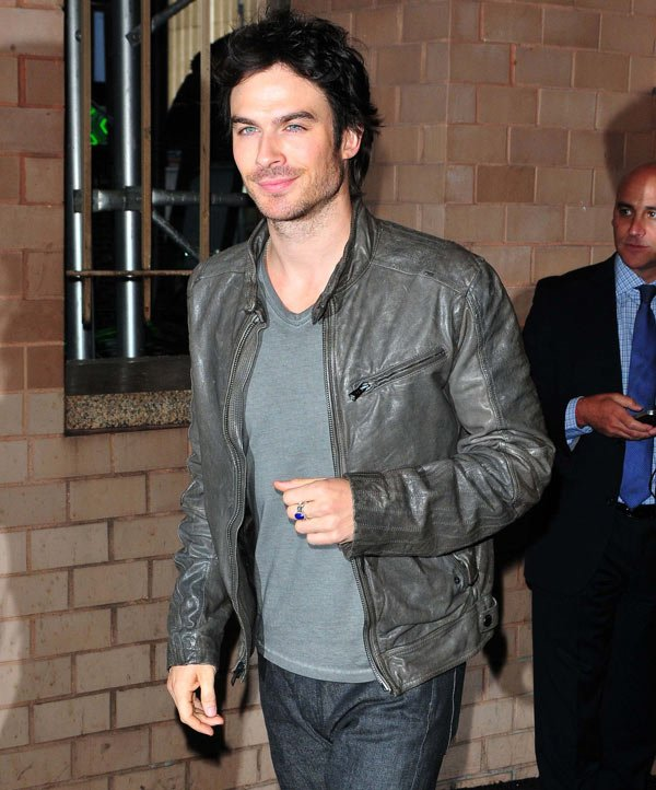 Ian Somerhalder Convinces Hollywood Writer To Back Him For 'Fifty Shades Of Grey' Role