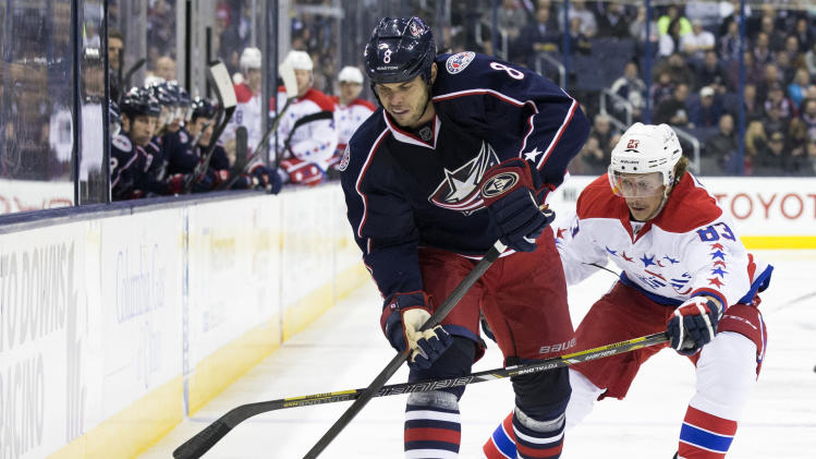 Nathan Horton will not be a playoff hero for Blue Jackets