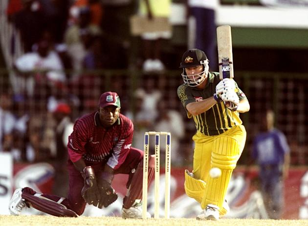 Steve Waugh of Australia
