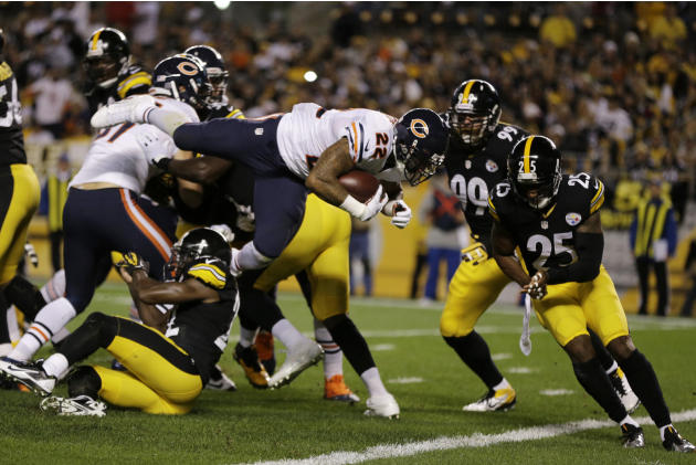 Bears Steelers Football